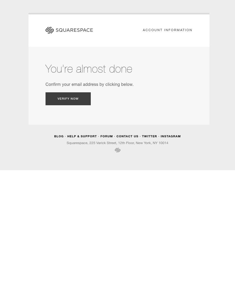 Onboarding on Squarespace video screenshot