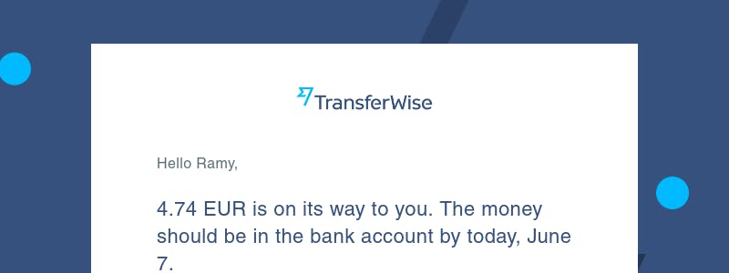 Sending currency on TransferWise - user flow design inspiration