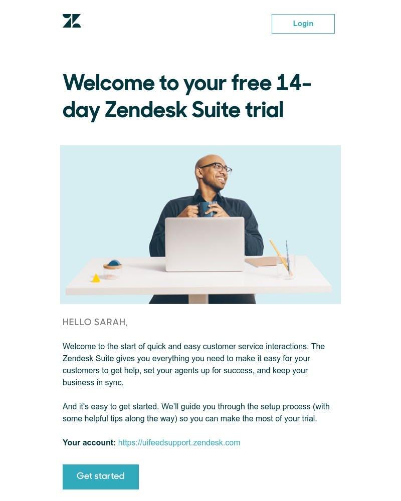 Onboarding on Zendesk video screenshot