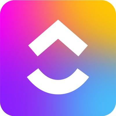 ClickUp logo